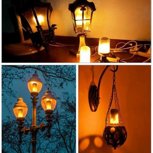 3 Flicker Simulated Bulb Decor Lamp