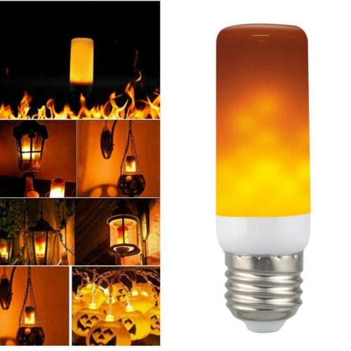 3 LED Flicker Flame Simulated Decor Lamp