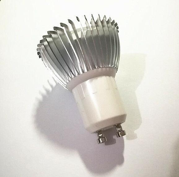 3W E27/GU10/MR16 Ultraviolet Purple 1*3W LED Light Bulb Lamp