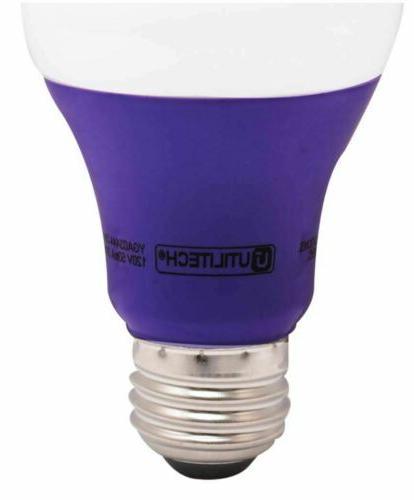 3W Purple LED Light Bulb Interior Standard Base EQ