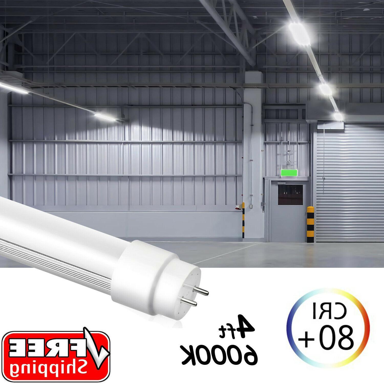 4FT 4 Tube Bulbs 6000K LENS