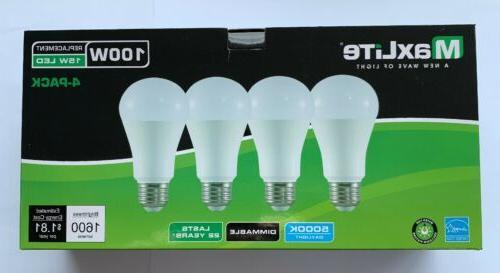 4 dimmable led daylight light bulb 15