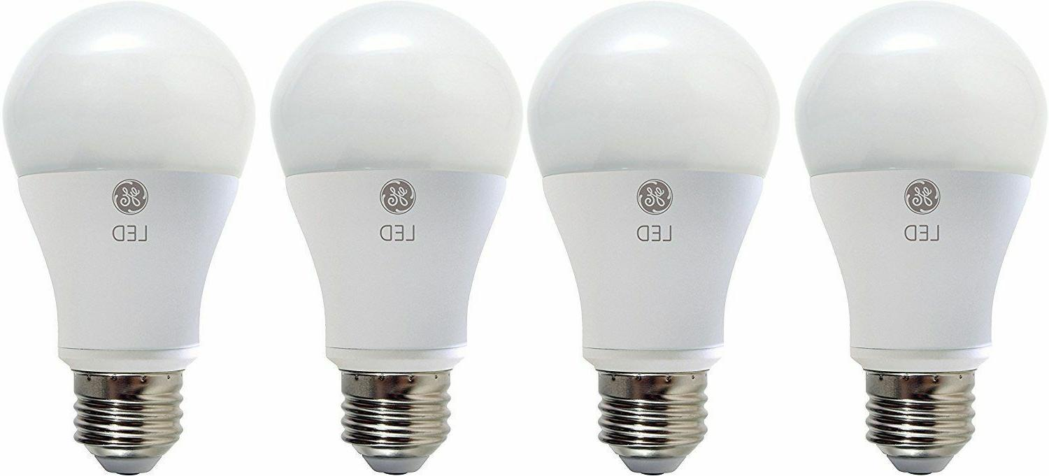 4 GE Lighting 67615 Dimmable LED Soft White Light Bulb 10-Wa