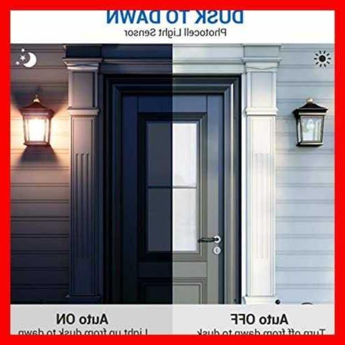 4 Dawn Light Bulb Outdoor Lighting On/Off