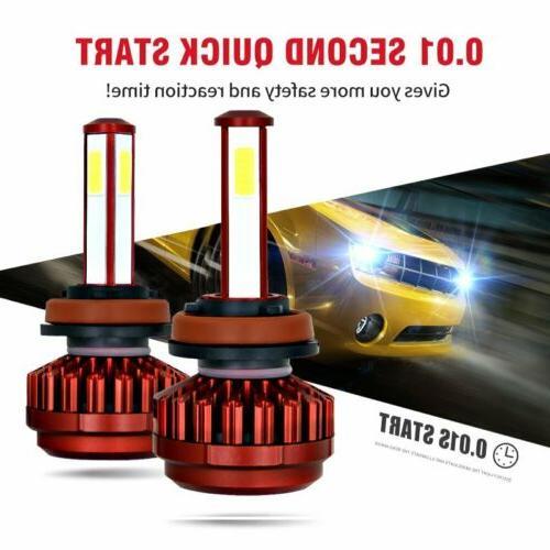 4 Sides H8 H9 LED High Power