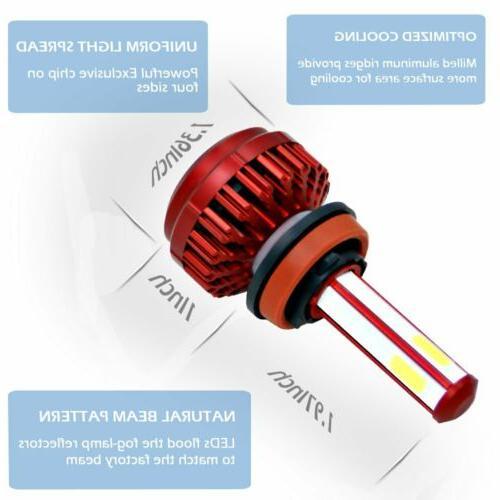 4 H9 Headlight Kits 285000LM High Power