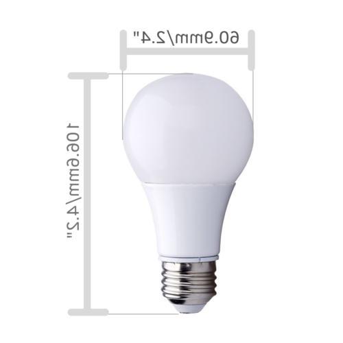 Bioluz LED LED A19 Bulb 6 Watts, Warm 2