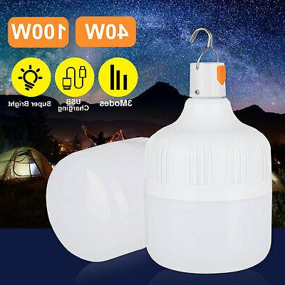 40W/100W LED Bulb Portable Emergency for Outdoor