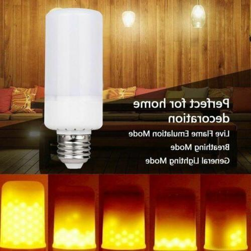 4x Flame Light Bulb Burning Party