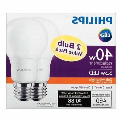 Philips 40W Replacement Soft Bulb,