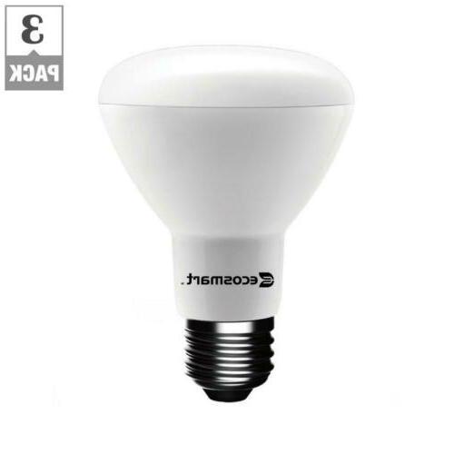 EcoSmart 50-Watt Equivalent BR20 Dimmable LED Bulb, Daylight
