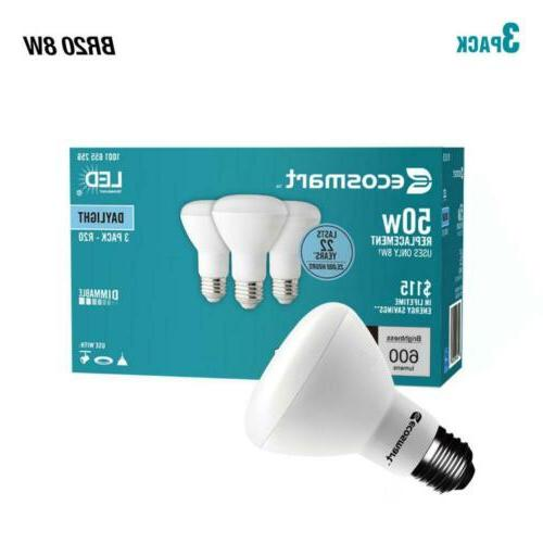 50 watt equivalent br20 dimmable led light