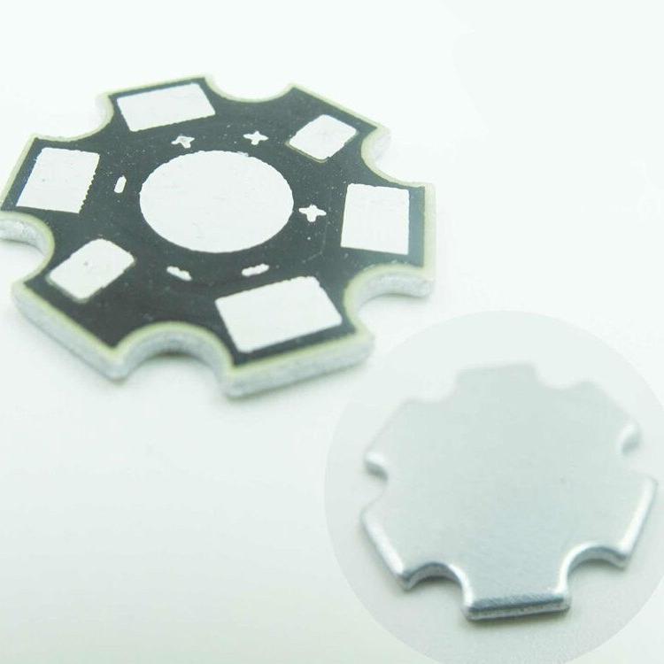 50pcs/lot /3w Heat Aluminum Plate 20 board DIY quality star