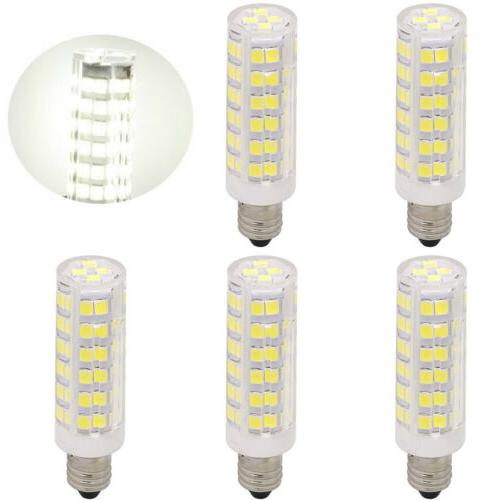 5x Mini E11 Base Bulb Candelabra LED Dimmable Ceiling Fan Li