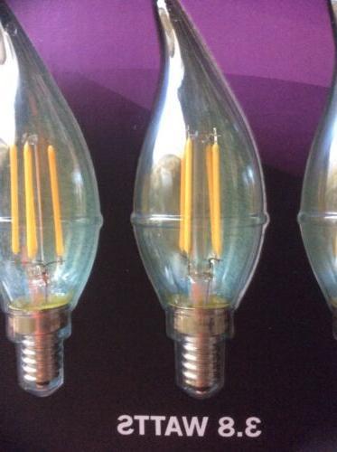 6 Feit Candelabra Bulbs WATT A19