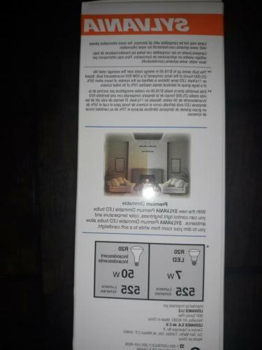 6 Dimmable Bulb R20 50W Equivalent Total