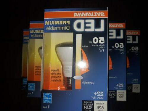 6 led premium dimmable flood light bulb