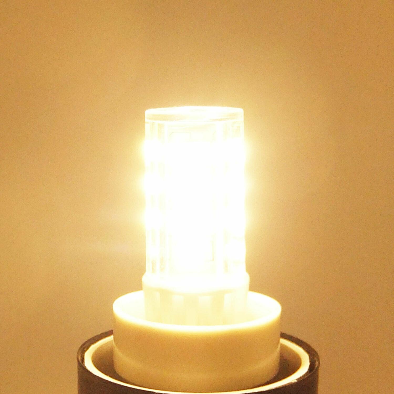 6-PACK 5W E12 Bulb, AC120V, 40W Halogen Equivalent E12 Base Bulb