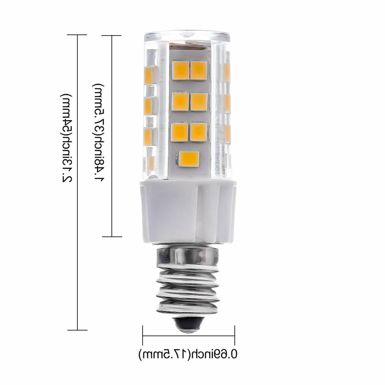 6-PACK 5W Bulb, Halogen Equivalent Candelabra Bulb