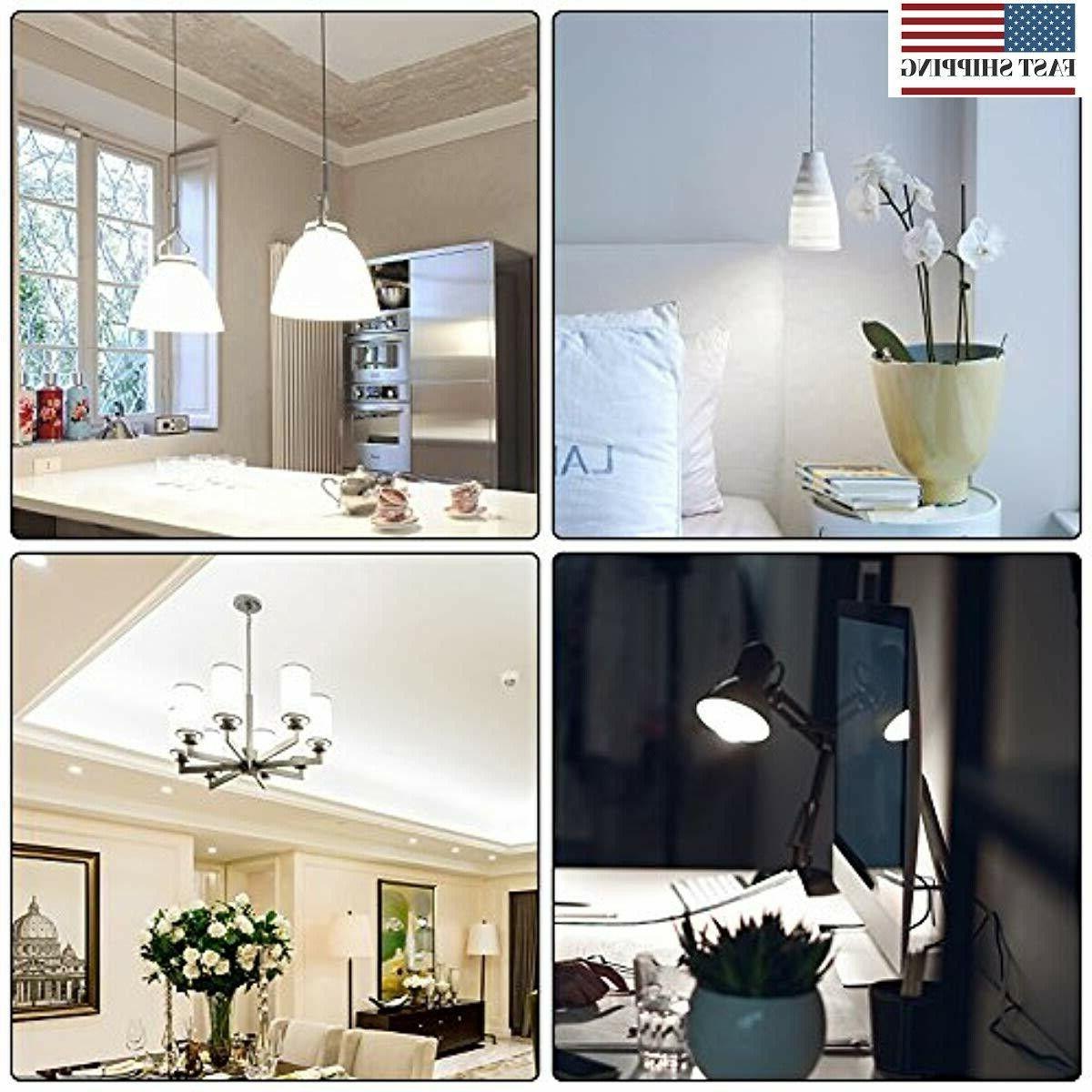 6 LED Candelabra Bulb 50W 5000K Daylight Whit