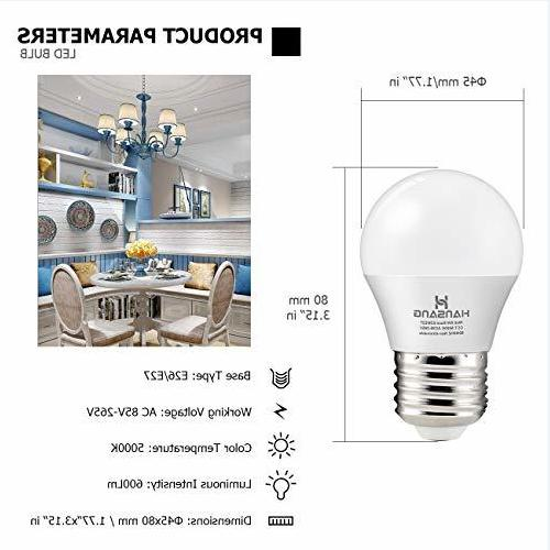 6 Bulb ,E26 Standard
