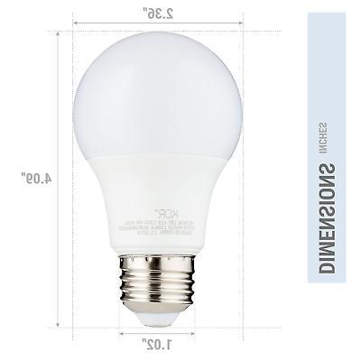 6 Bulb 60W Non 5000K Daylight Medium E26