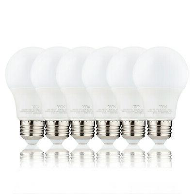 6 A19 Bulb 9W Non 5000K