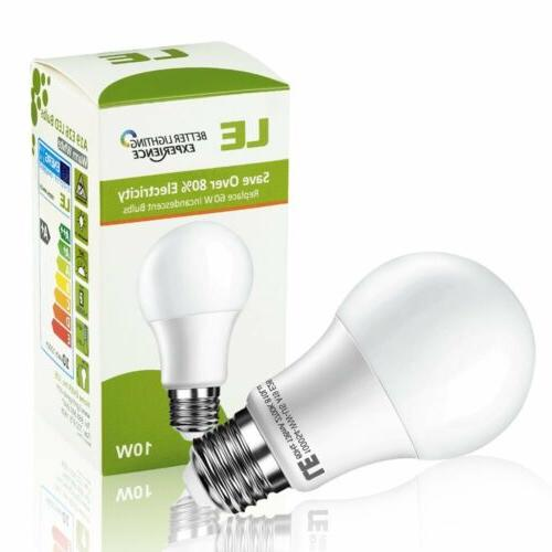 60 Watt Equivalent LED Light Bulb Warm White 2700K 10W E26
