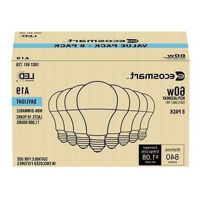 60-Watt Equivalent A19 LED Bulb Daylight