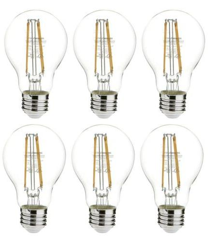 60 watt equivalent clear dimmable a19 led