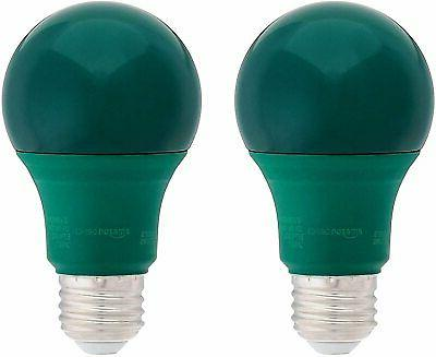 Non-Dimmable, A19 LED Light Bulb - 2-Pack