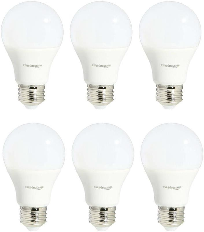 60 Watt Equivalent, Soft White, Non-Dimmable, A19 LED Light