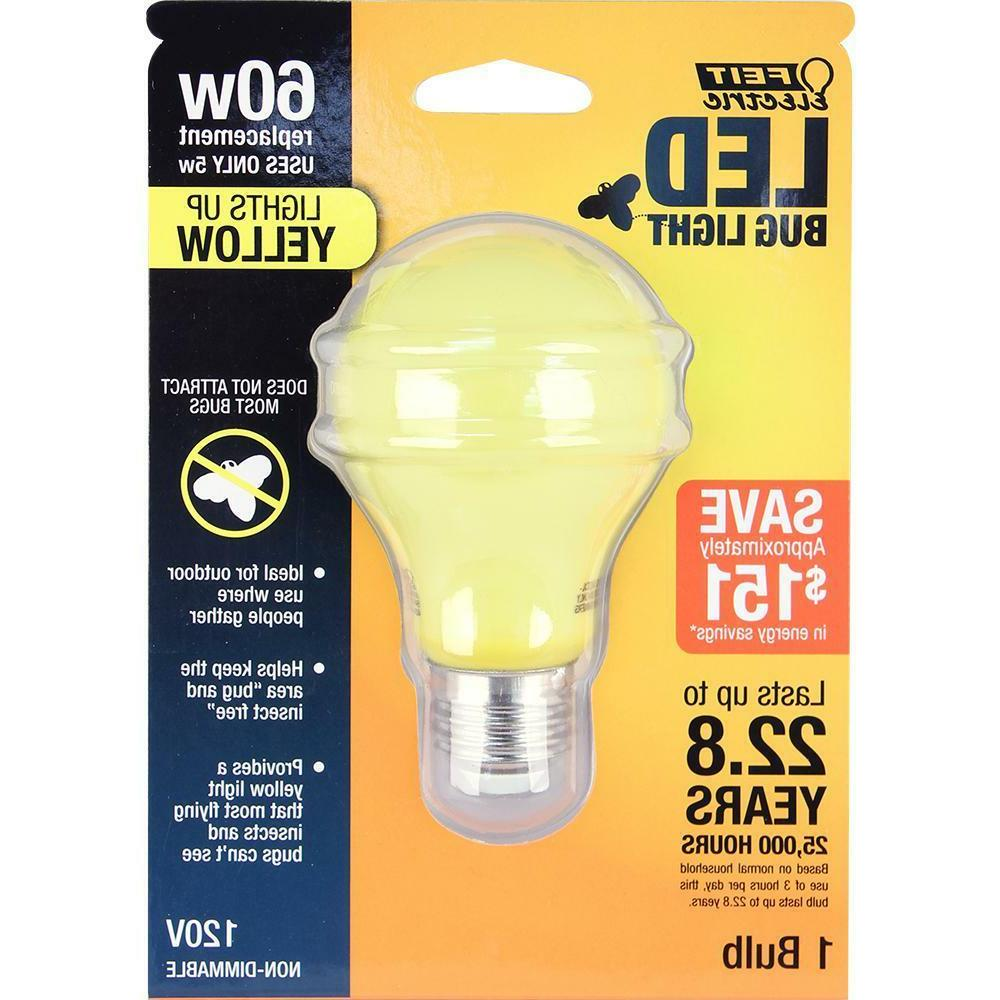 Feit Electric 60W Yellow-Colored LED Light Bulb