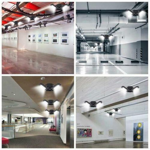 60W Deformable Leaves Workshop Warehouse Ceiling Bulb