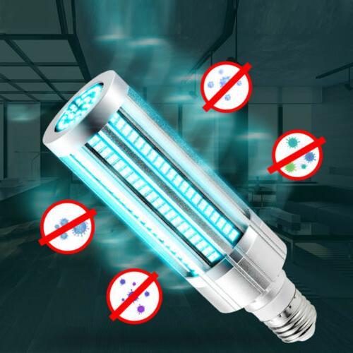 60W LED UVC Disinfection Light E26/E27 Ozone +Timer