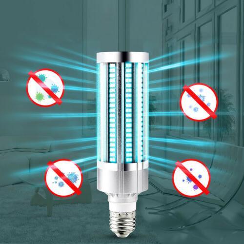 60W UV LED UVC Light Bulb E26/E27 Ozone +Timer