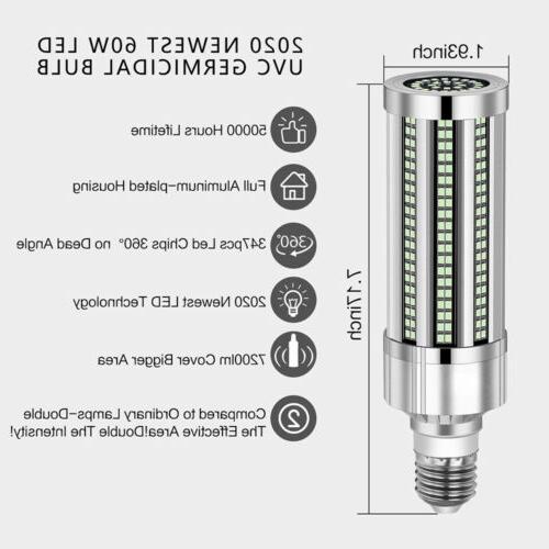 60W UV Light Bulb +Timer