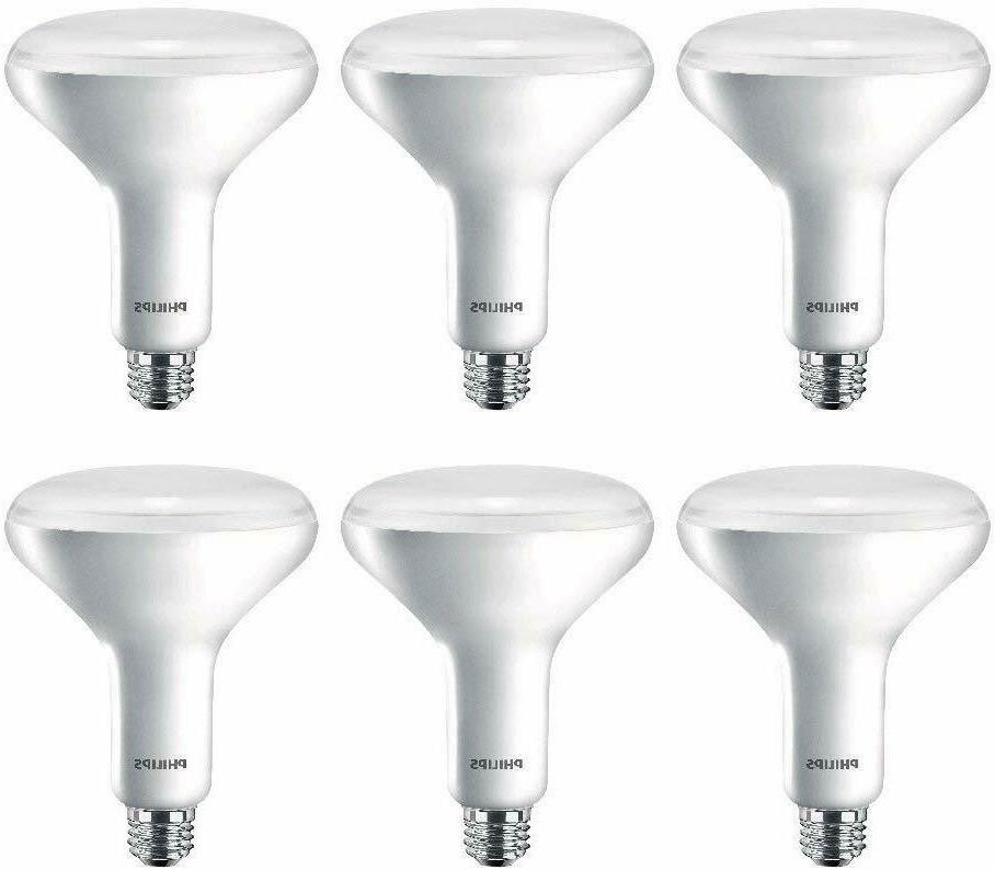 Philips 65W Equiv Soft White BR40 Dimmable LED Warm Glow Flo
