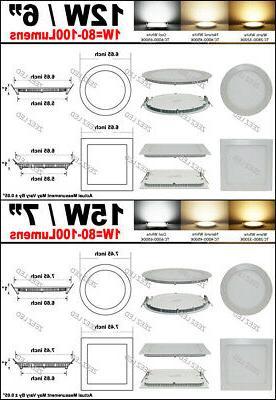 6W 9W 18W Panel Slim Fixture