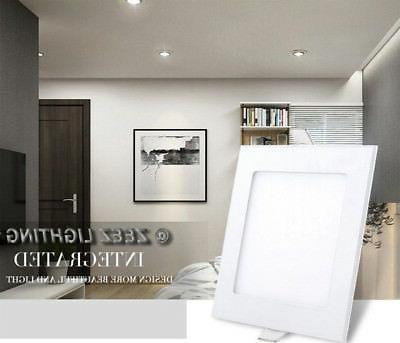 6W 18W LED Ceiling Panel Down Lights Slim Lamp