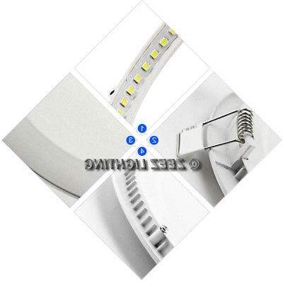 6W 12W 18W LED Panel Down Lights Slim Fixture