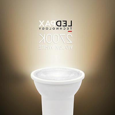6w e26 dimmable led spotlight light bulb