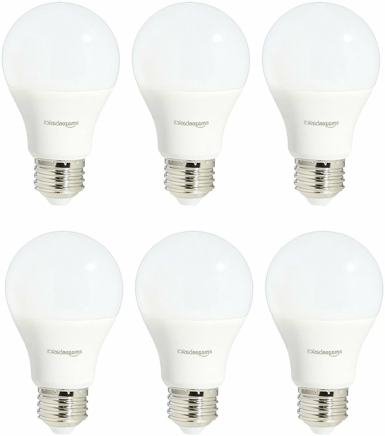 AmazonBasics 75 Watt Equivalent, Daylight, Non-Dimmable, A19