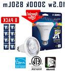 8 Pack CREE 75W PAR30 Long BR30 BRIGHT WHITE Flood Dimmable