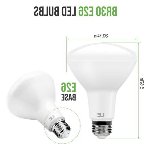 8 Pack LED Bulb 10.5W White Flood Bulbs