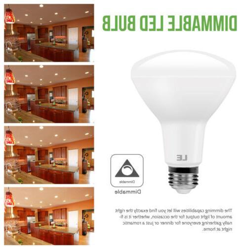 8 pack BR30 LED White Indoor Flood Bulb
