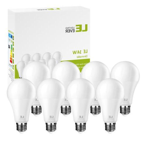 LE A21 LED Bulb 100W Equivalent E26 Flood Lights Bulbs 2700K