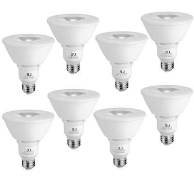 8 Pack PAR30 LED Bulb Dimmable 11W 2700K Warm White Flood Li