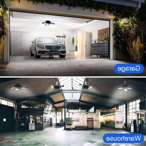 80W 8000LM Garage Light Bulb w/Adjustable