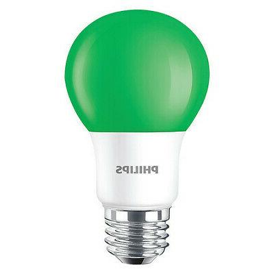 PHILIPS 929001997905 LED Bulb,A19,3000K,60 lm,8W